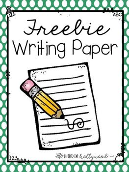 Here are 9 different writing papers! 3 are lined paper, 3 have a ...