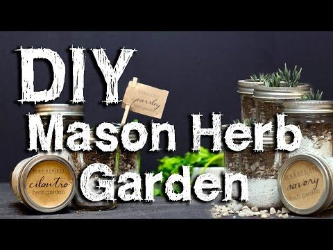 How To Make Your Own Indoor Mason Jar Herb Garden   Page 2 Of 3   Natural  Medicine Box