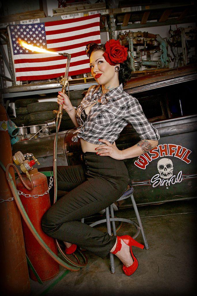 tattoo hotrod pinup | Hot Rod Model Cara Mia, Hot Rod Pin ...