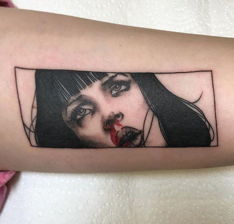 Pin by medaysha smith on tats tattoos pulp fiction