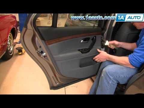 How To Remove Install Rear Door Panel 2003 11 Saab 9 3 1aauto Com Panel Doors Saab 9 3 Paneling