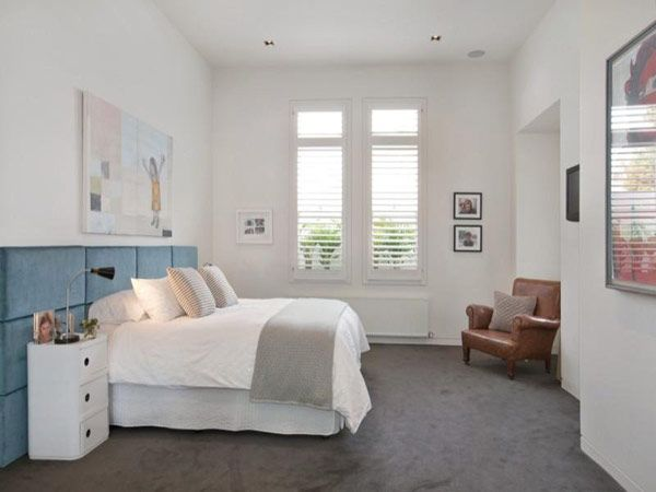 Exceptional Gray Carpet, White Walls And Trim