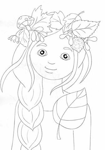 Fairy Coloring Pages for Adults - Best Coloring Pages For Kids | 480x336