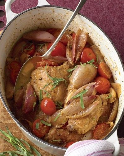 Braised Chicken with Shallots
