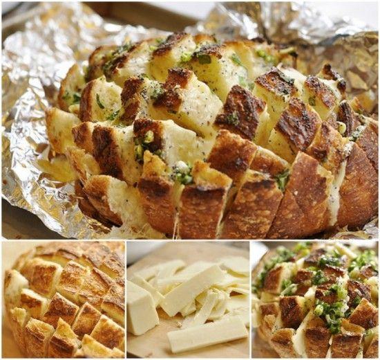 "Bloomin Onion Bread Recipe via ""Your Home based Mom"