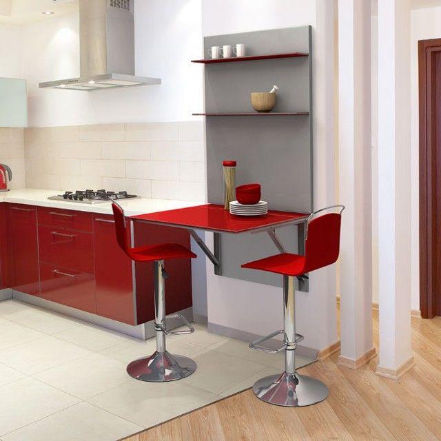 Mesas para Cocinas Pequeñas | Decoración | Cocinas pequeñas ...
