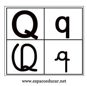 Cartazes Varal Alfabeto Quatro 4 Tipos De Letras Para A Parede Da
