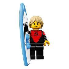 LEGO Minifigure Legs BLACK Hips with BLUE and GOLD Sash Ninjago Male Boy