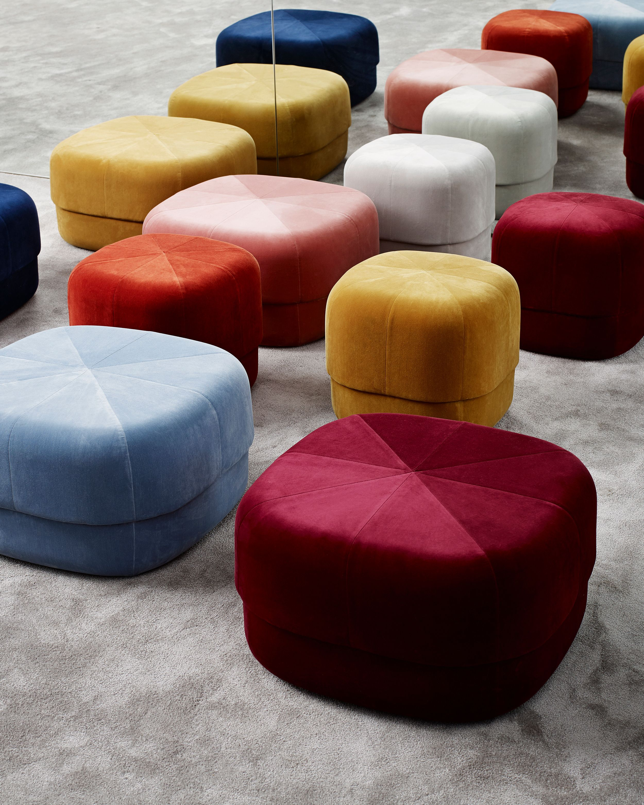 The Circus Pouf Allows Contradictions To Meet In A Design Whose