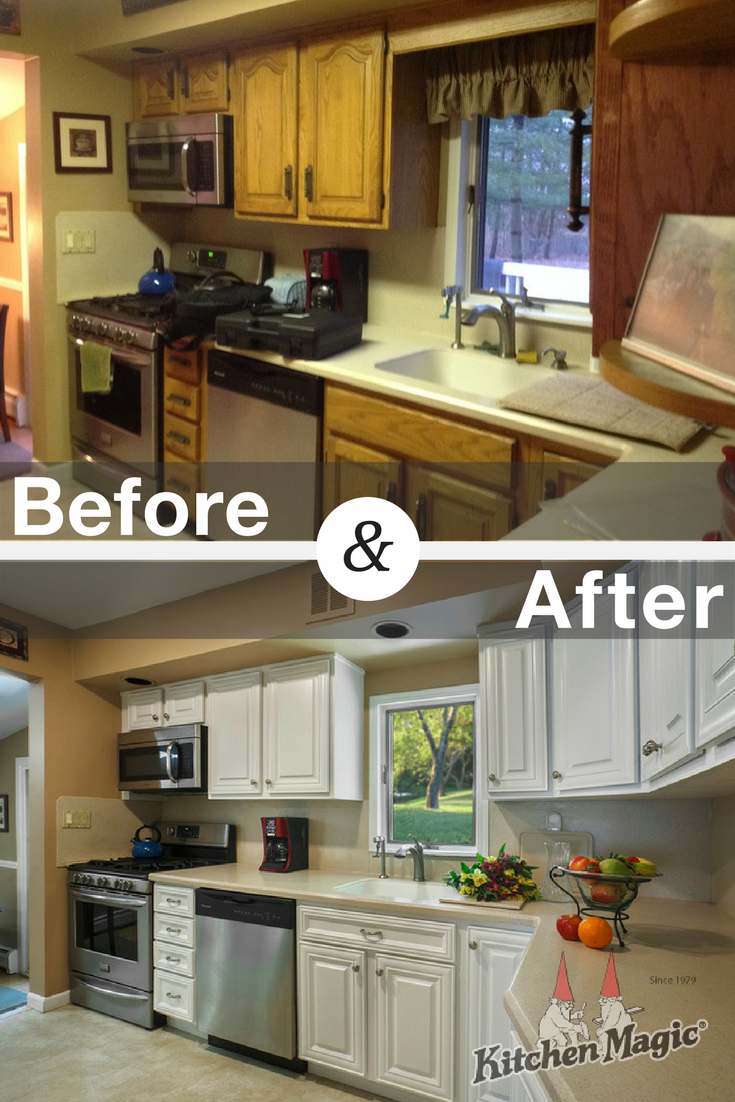These Savvy Homeowners Opted To Have Their Cabinets Refaced Knowing It Would Get The Results Refacing Kitchen Cabinets Kitchen Cabinet Styles Cabinet Refacing