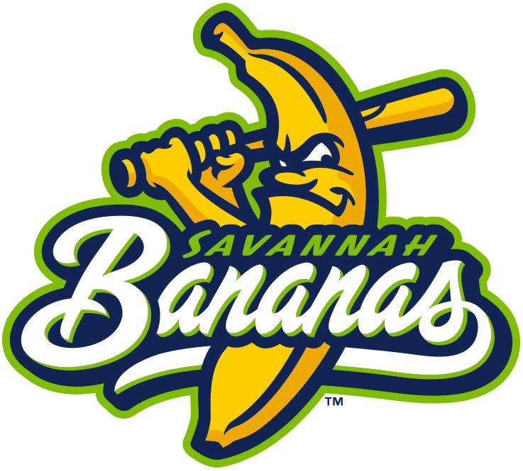 Savannah Bananas Primary Logo (2016) - | Sports Logos ...