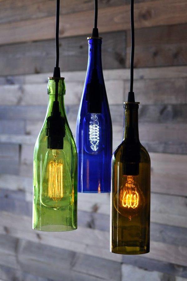 60 Cool Wine Bottles Craft Ideas 60