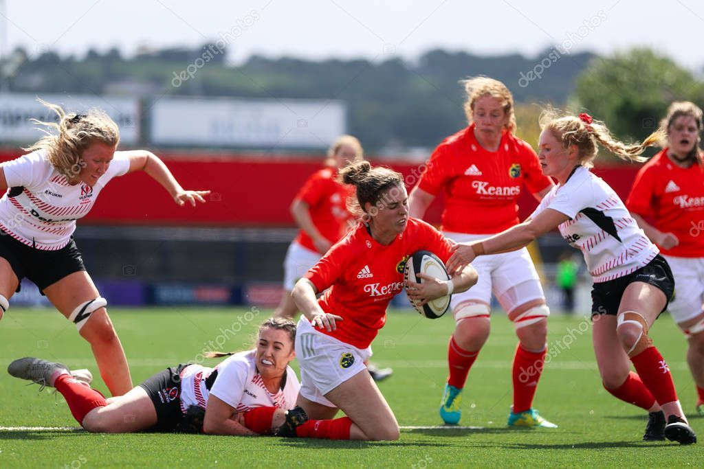 August 17th 2019 Cork Ireland Action Munster Women Rugby Ulster Stock P Ad Cork Ireland August Action Ad Dublin Ireland Travel Cork Ireland Rugby