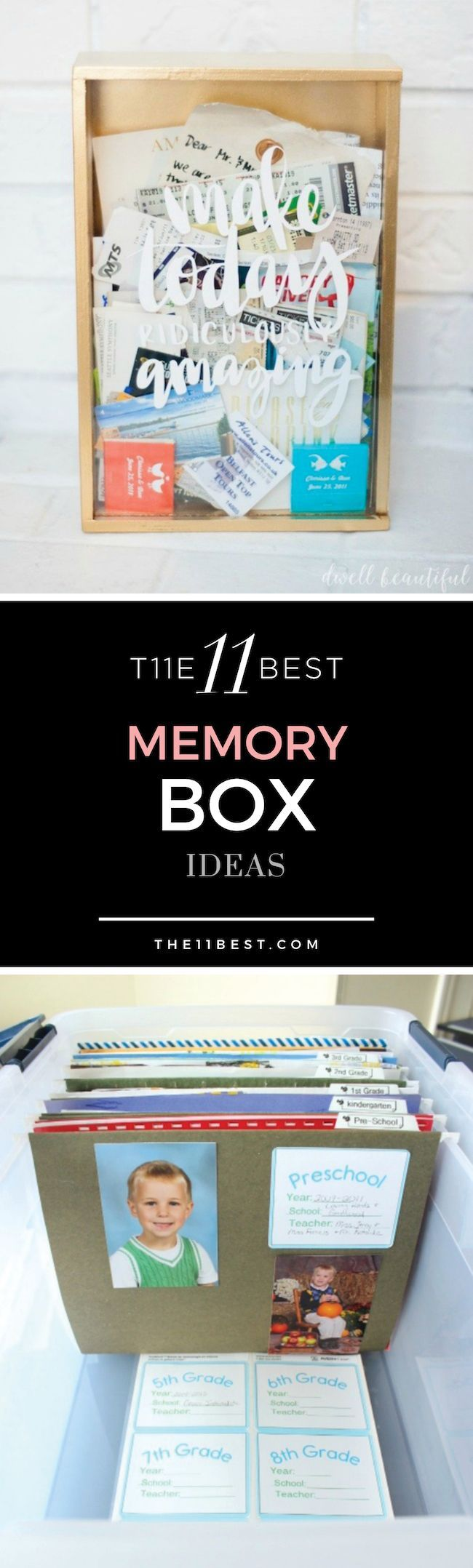 The 11 Best Diy Memory Box Ideas Pins We Love Diy Shadow Box