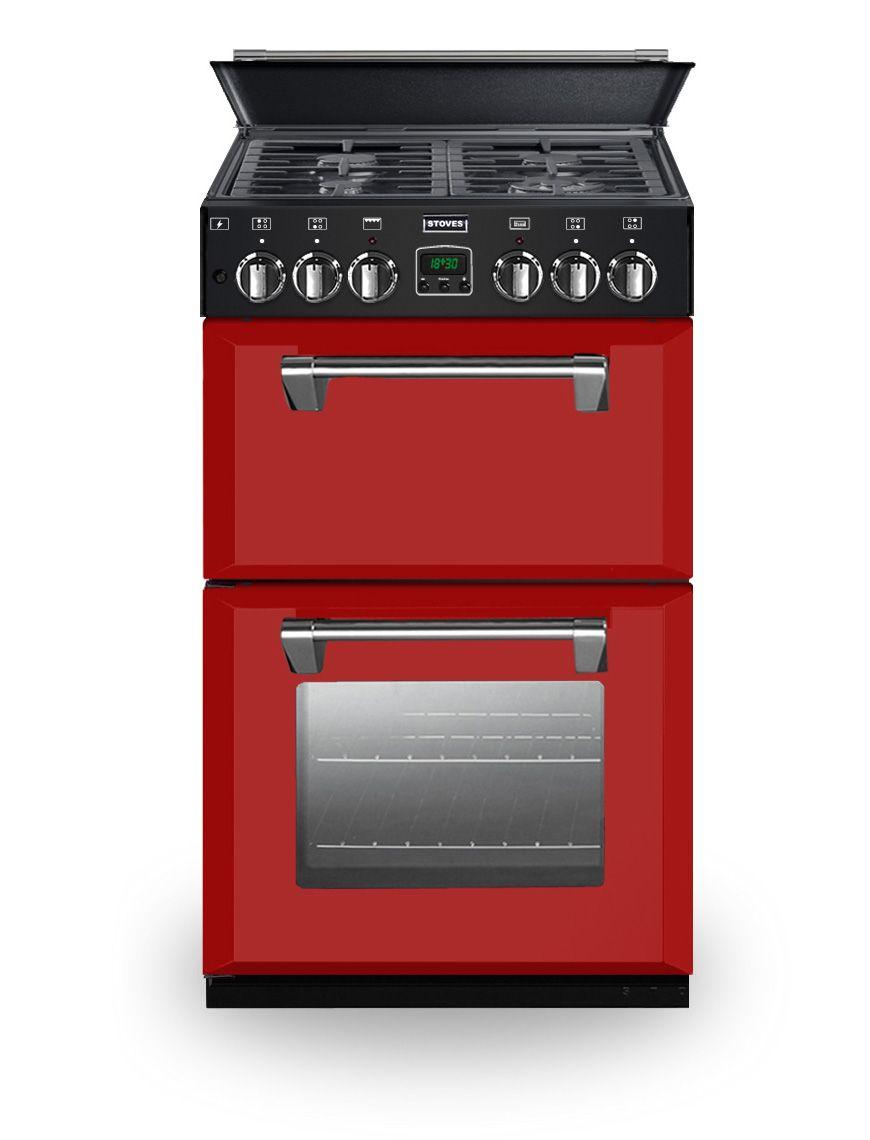 Red range cooker