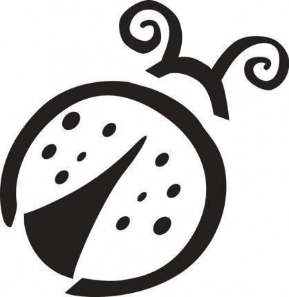 pumpkin template ladybug pumpkin stencil  Awesome Lady Bug Tattoo Design | Pumpkin stencil, Pumpkin ...