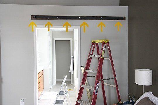 Instructions sur la façon de faire une porte coulissante avec palettes - creer une porte coulissante
