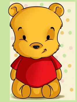 Disney How To Draw Baby Winnie The Pooh Baby Disney Characters