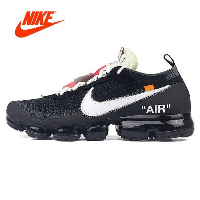 2cc1427128949 Official Original Stock Limited Nike X OFF-WHITE AIR VAPORMAX OFW Men s  Running Shoes Outdoor Classic Sports Shoes