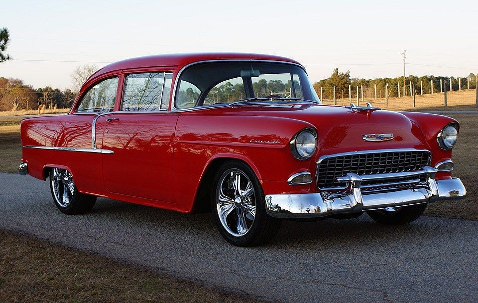 1955 Chevrolet Bel Air Muscle cars for sale, Vintage