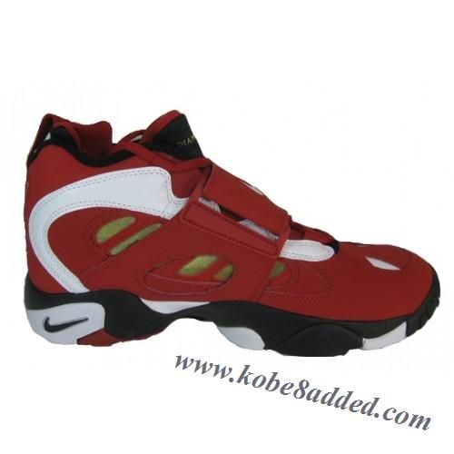 f9685ec01080 Nike Air Diamond Turf II Varsity Red White Metallic Gold Shoe