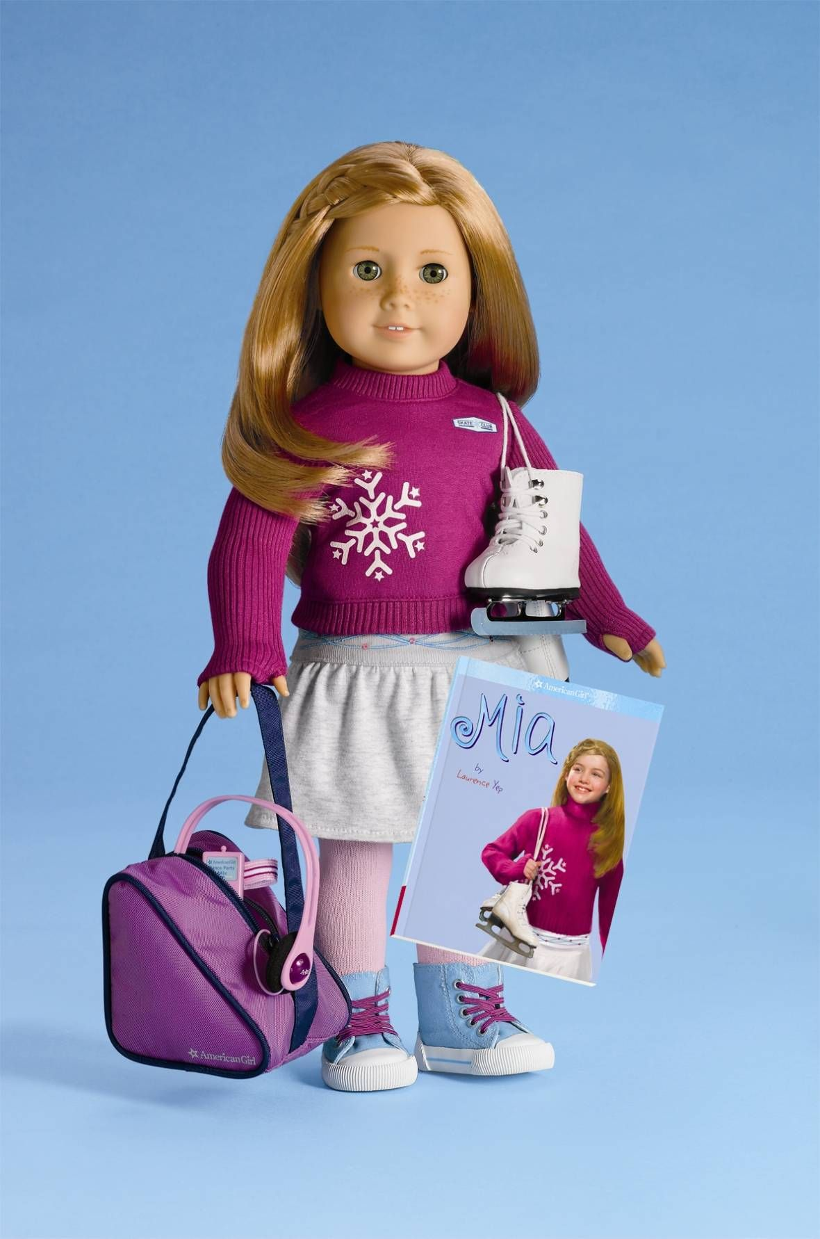 American Girl Doll of the Year Mia (2008) Mia's doll in honor of her name!!!