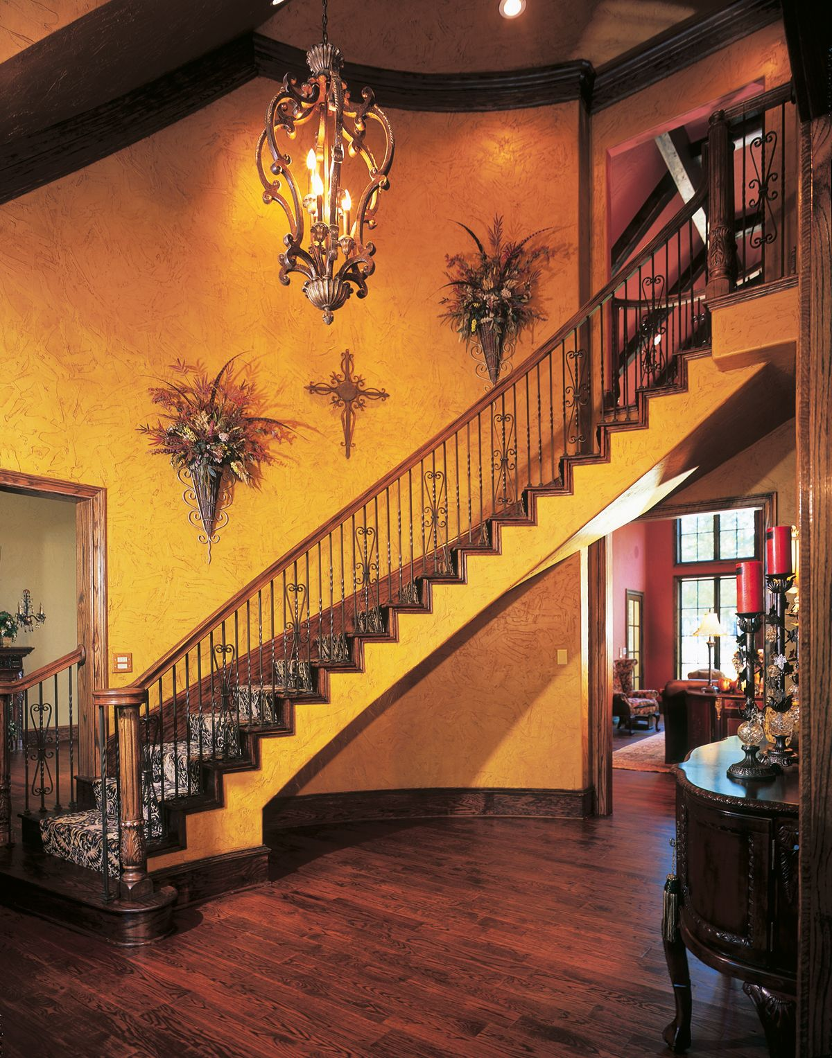 A little bit of elegance to walk down.   Design, Stairs ...