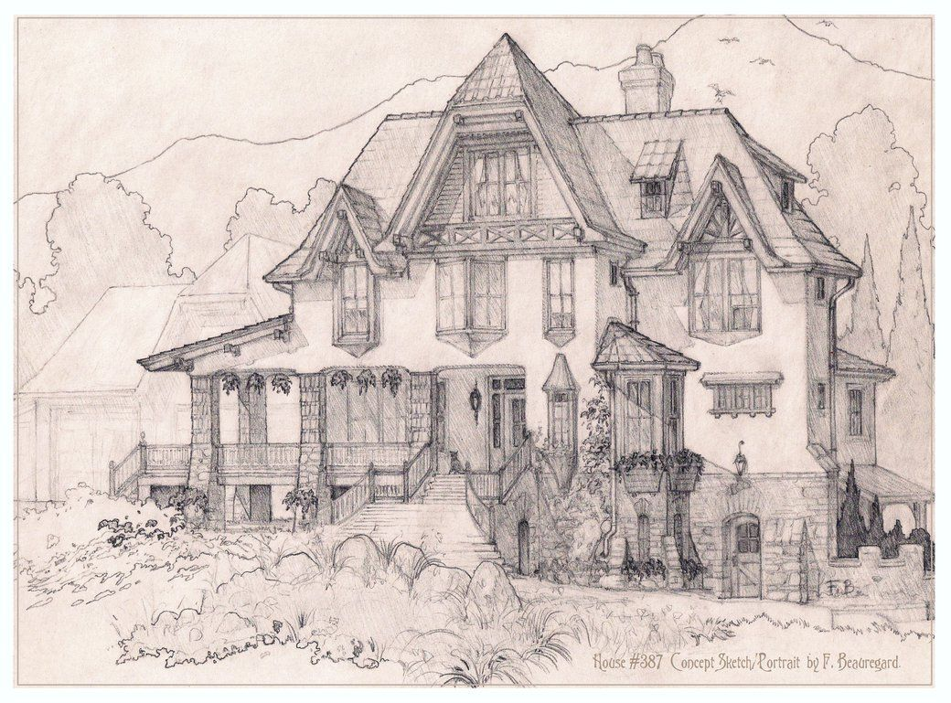 Original design for an american us tudor style house all design