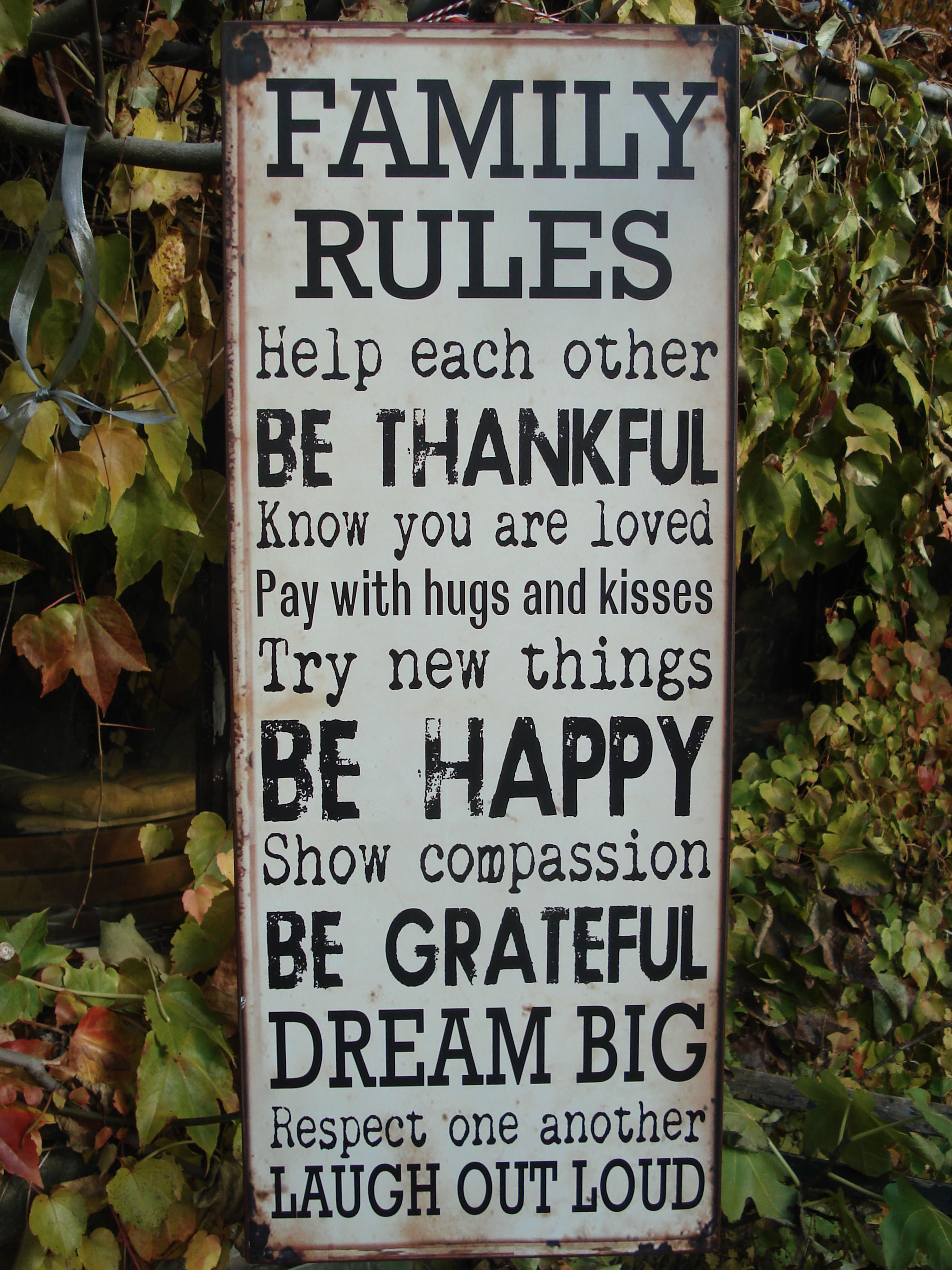 Our famiy rules awareness pinterest