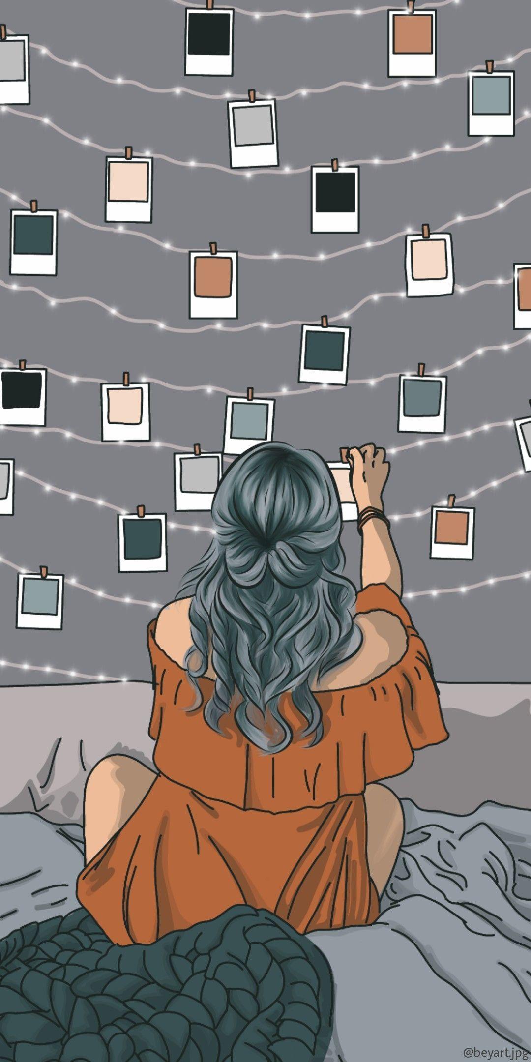 Top 10 Cool Lock Screen Iphone Anime Polaroid 2020 Di 2020