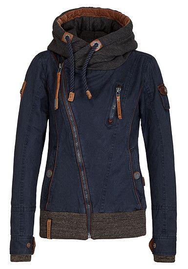 NAKETANO Walk The Line - Jacke für Damen - Blau | Wardrobe