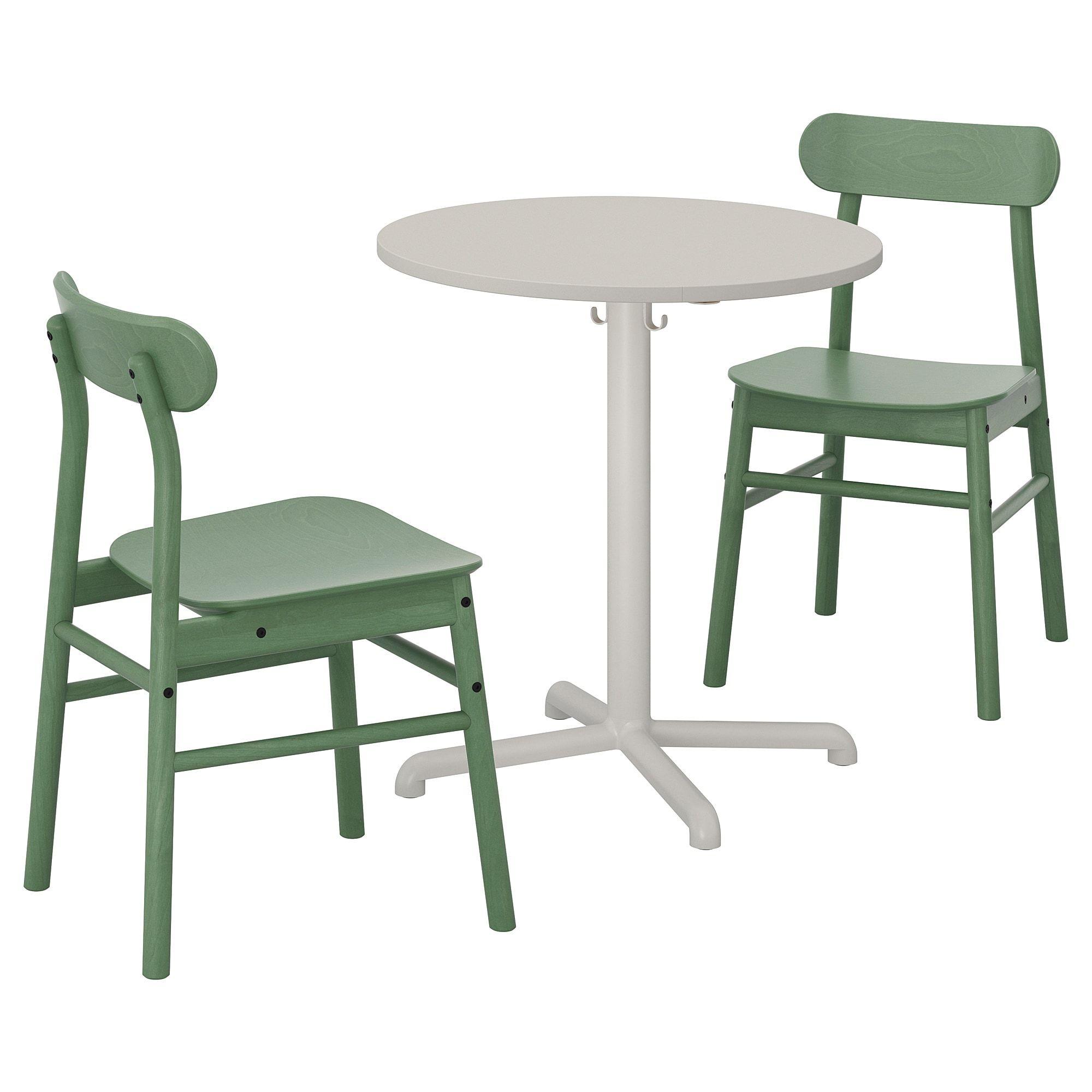 Stensele Ronninge Tisch Und 2 Stuhle Hellgrau Hellgrau Grun