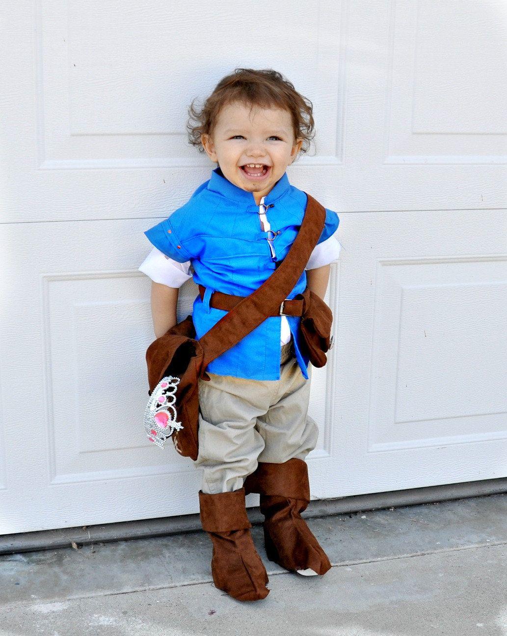 Flynn Rider inspired costume - tangled rapunzel baby babies kids ...