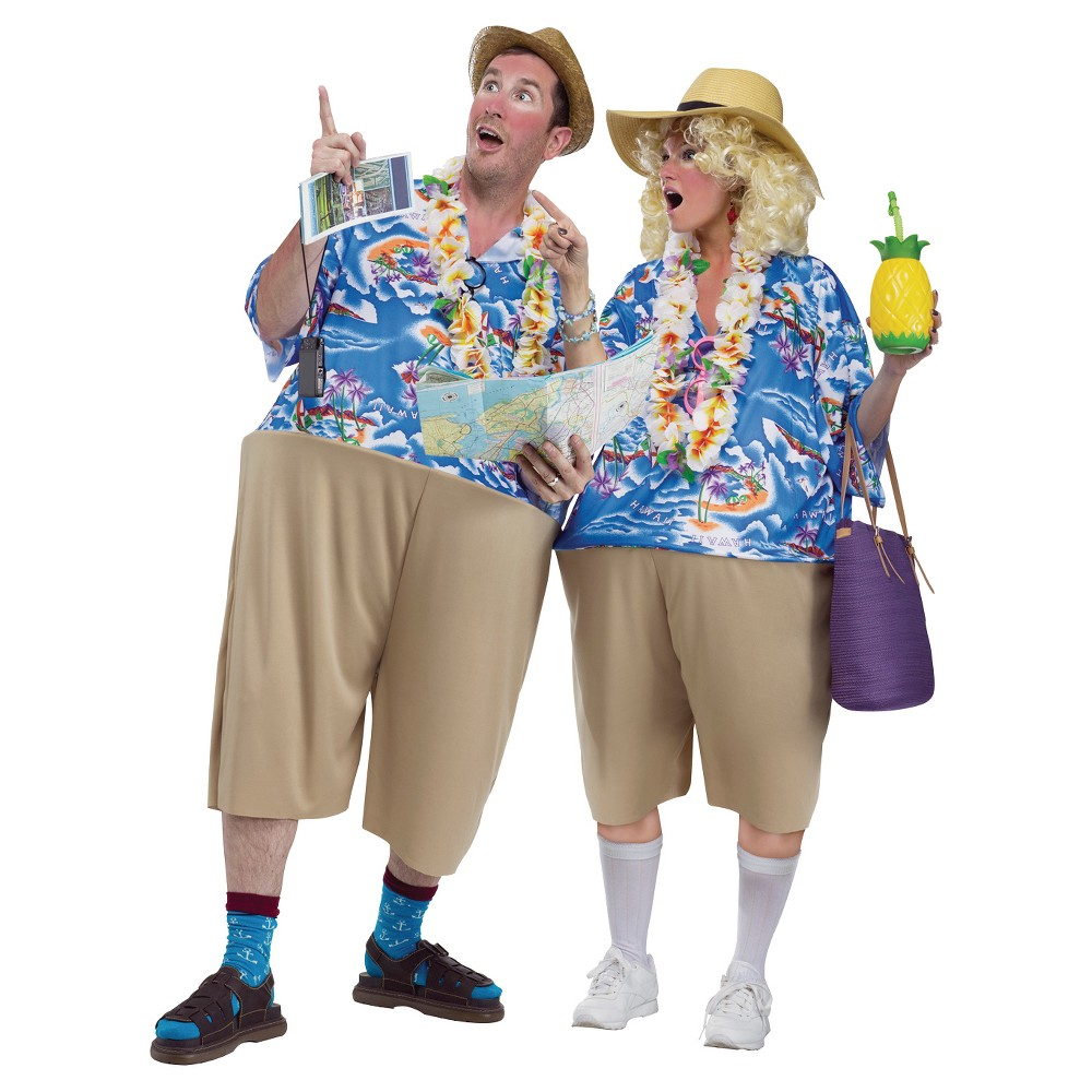 Adult Tacky Tourist Costume - One Size Fits Most | Tacky tourist ...