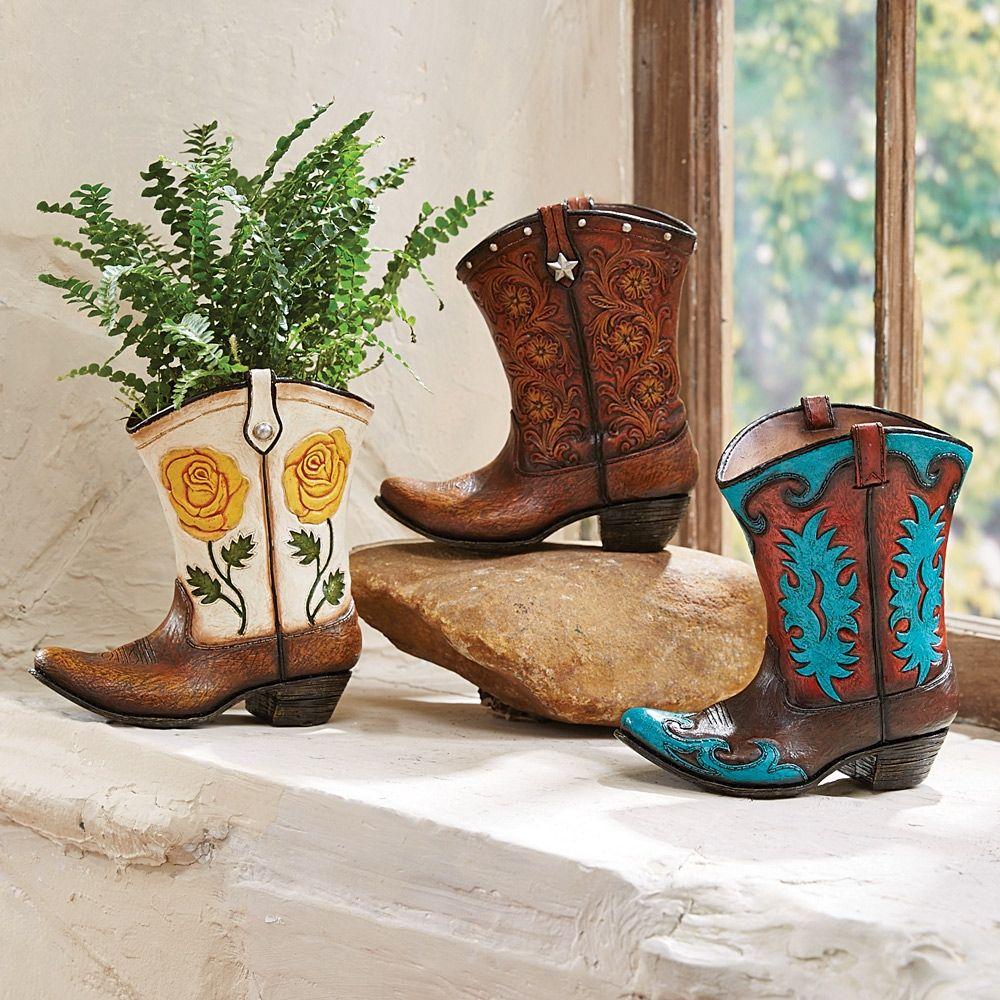 Glass western boot vases vase pinterest western boot glass western boot vases floridaeventfo Images