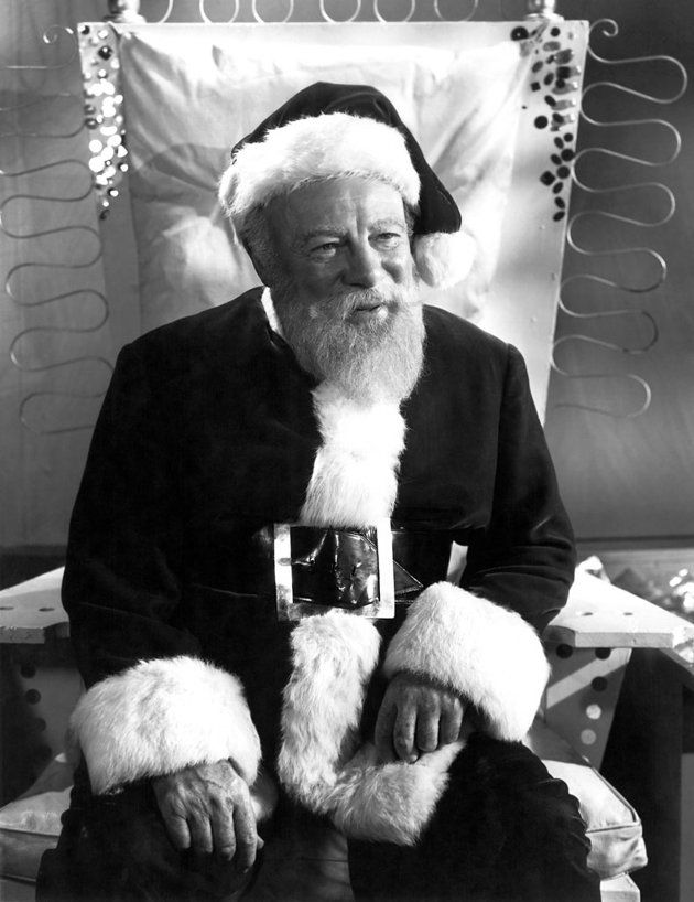 "Edmund Gwenn, ""Miracle on 34th Street."" The gold standard for big-screen  Santa Claus benevolence, neither craven … 
