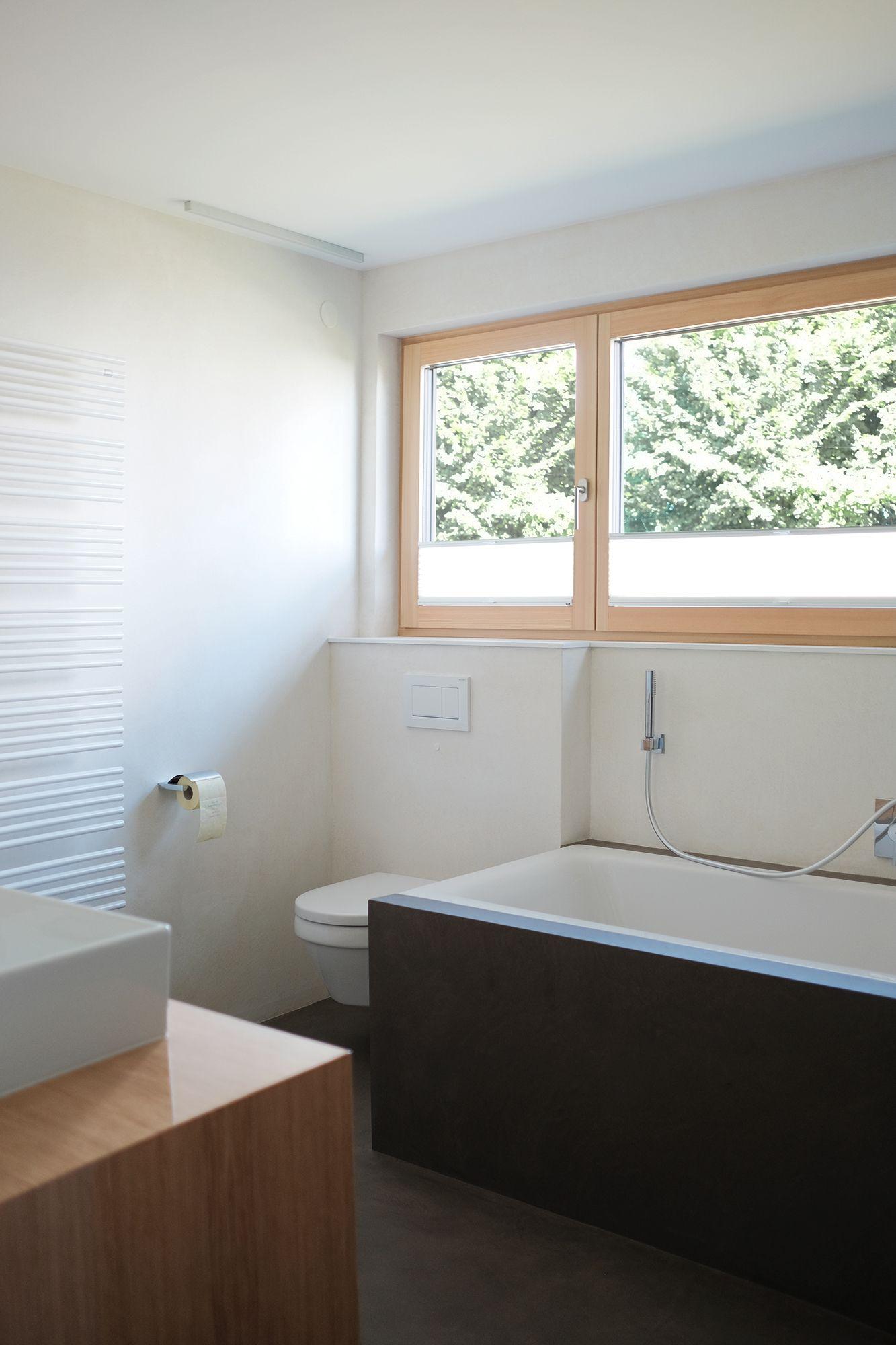 Badezimmer Gespachtelt Hygienisch Praktisch Modern En 2020 Salle De Bain Bains Salle