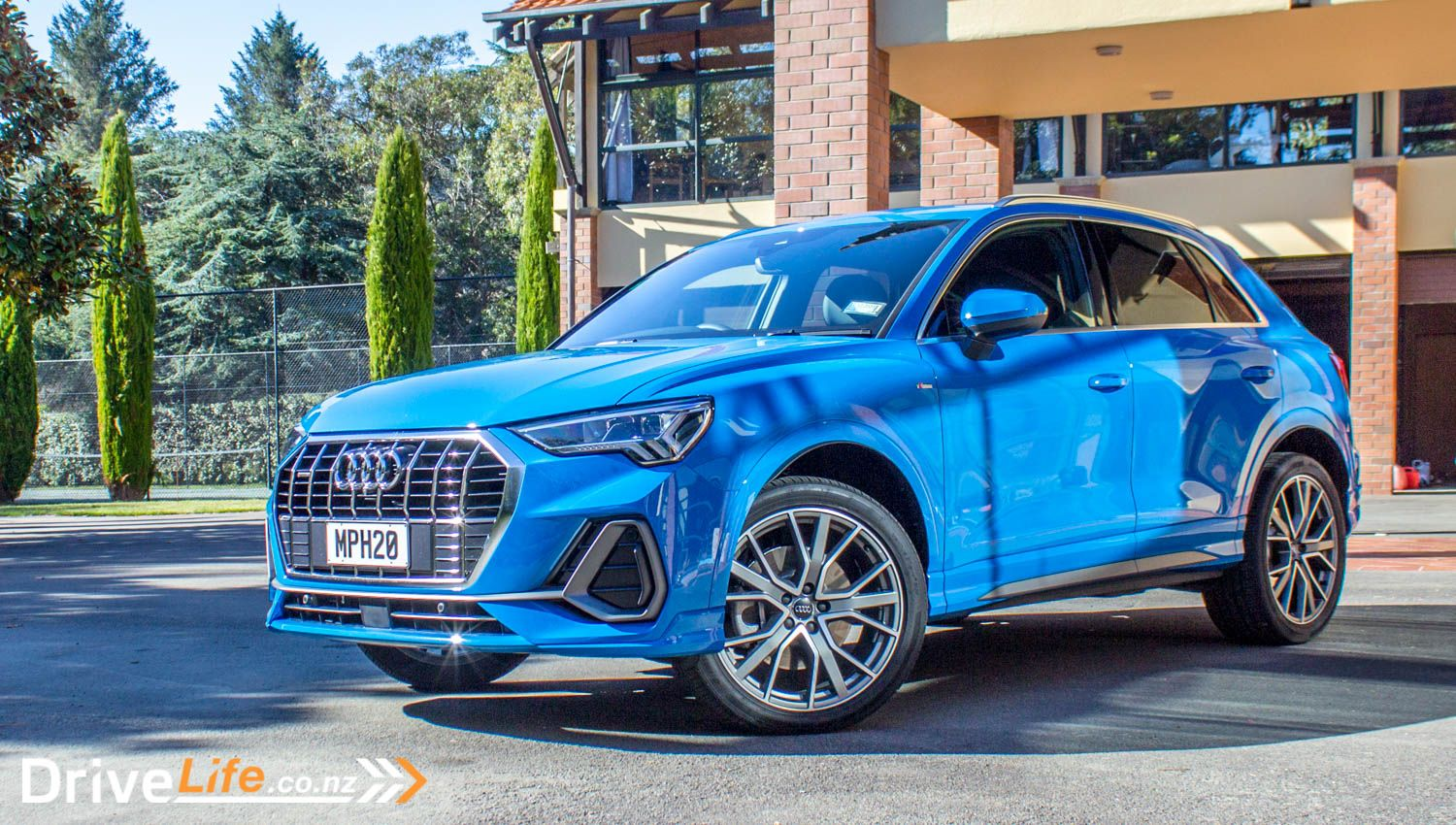 When we went to the launch of the new Audi Q3, we really