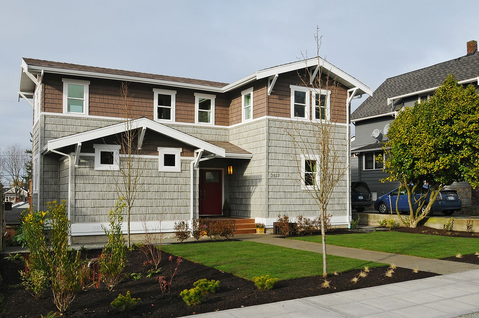 Exterior Of Greenfab S 2300 Series Craftsman Home With