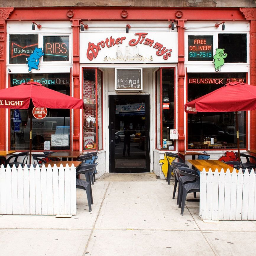Brother Jimmy's BBQ Great Southern Food NYC Features