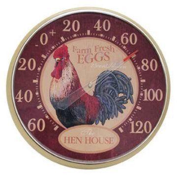 Acu Rite Hen House 12 5 In Indoor Outdoor Thermometer Outdoor Thermometer Chicken Lover Gifts Hen House