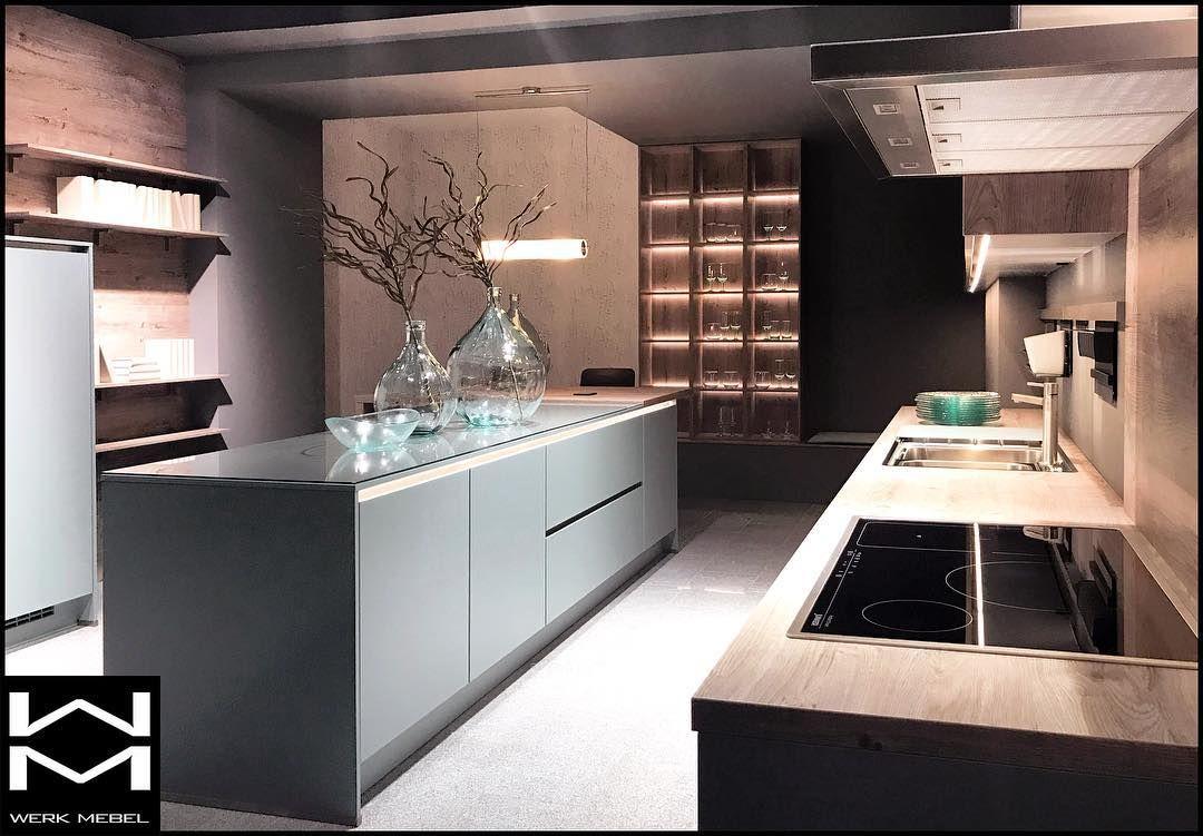 Werkmebel Niemieckakuchnia Meblekuchenne Wyspa Wnetrza Design Wyspakuchenna Mieta Mint Drewnowkuchni Home Decor Home Decor