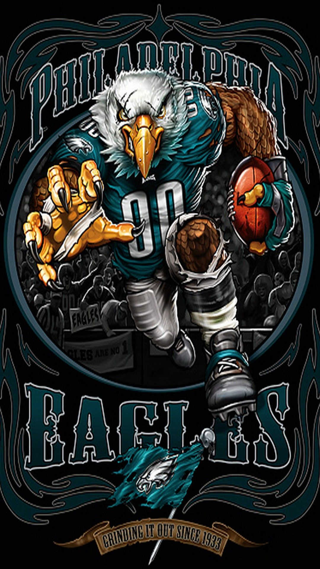 Eagles Football iPhone 7 Plus Wallpaper 2020 NFL
