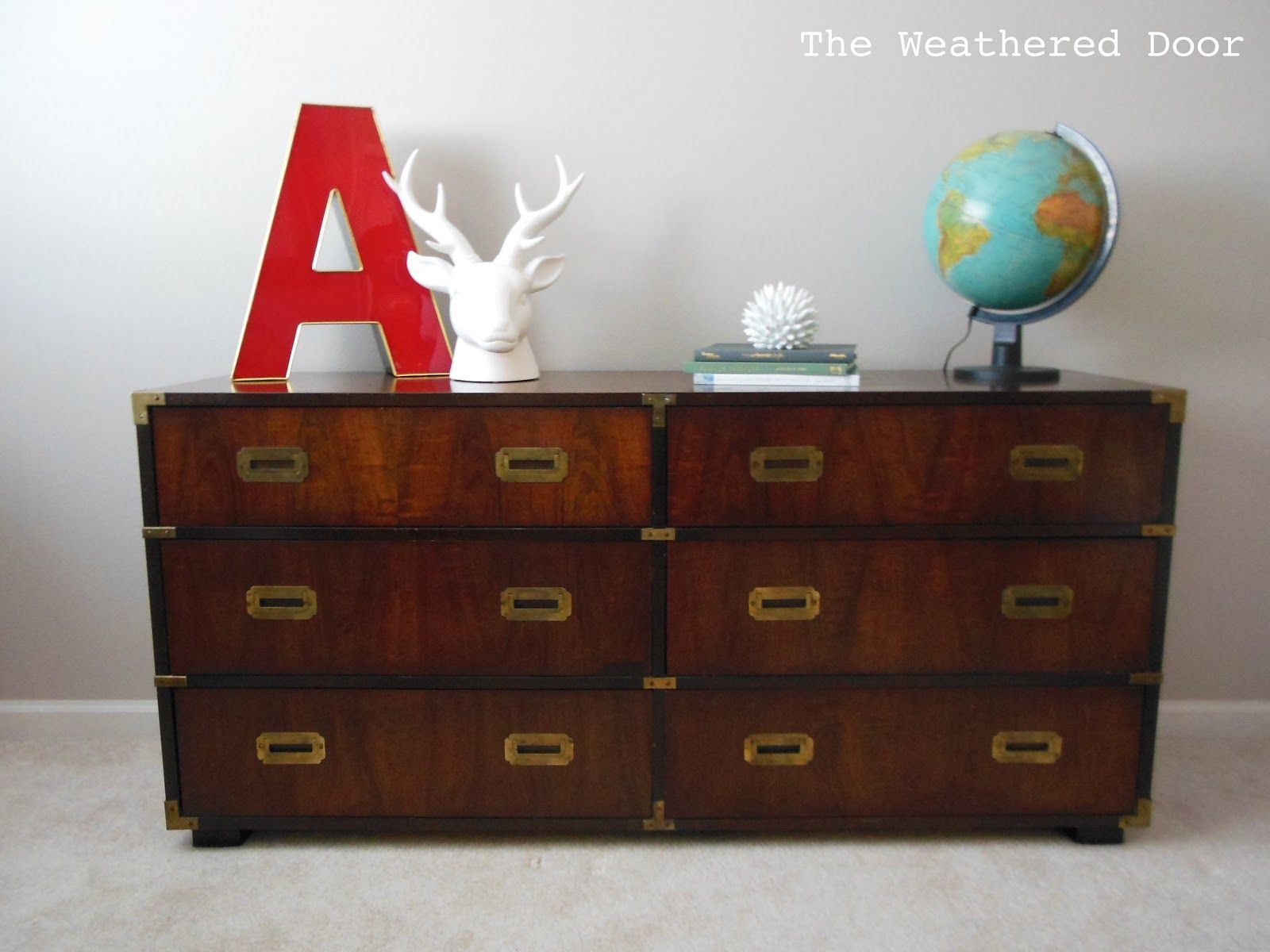 Wonderful The Weathered Door: Lane Wood Campaign Dresser