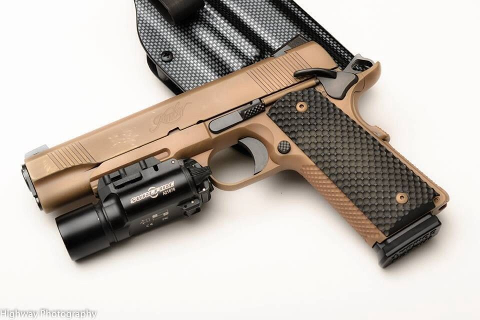 1911 Tactical with Flashlight/Holster | Guns & Tactical