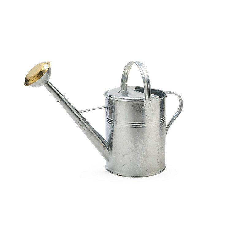Zinc Coated Watering Can Oval 4 L Manufactum Giesskanne Manufactum Grosser Garten