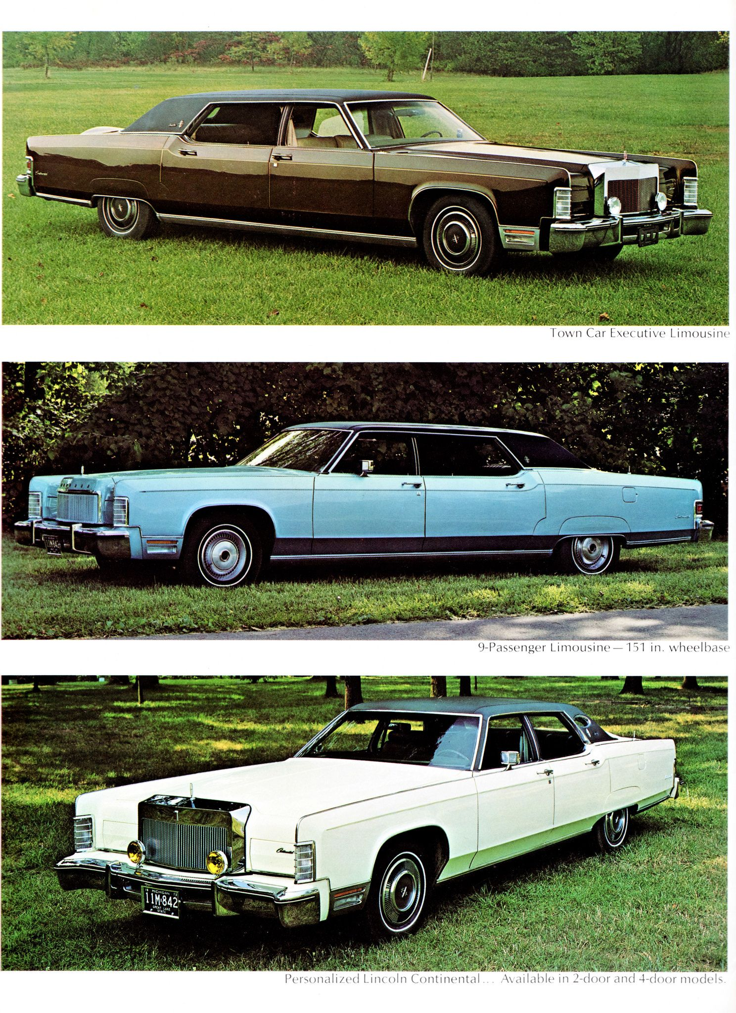 1974 Lincoln Continental Limousines Lincoln Continental Limousine