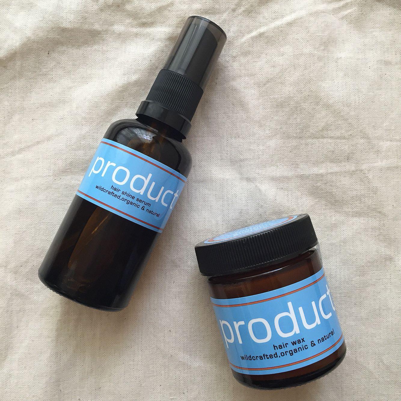 Product Hairwax Spray Organic Natural Hairshineserum