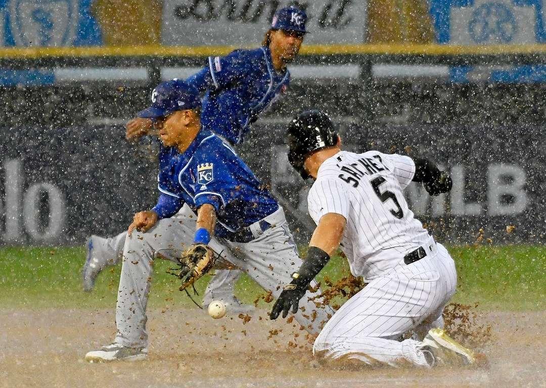 MLB Kansas City Royals at Chicago White Sox David Banks