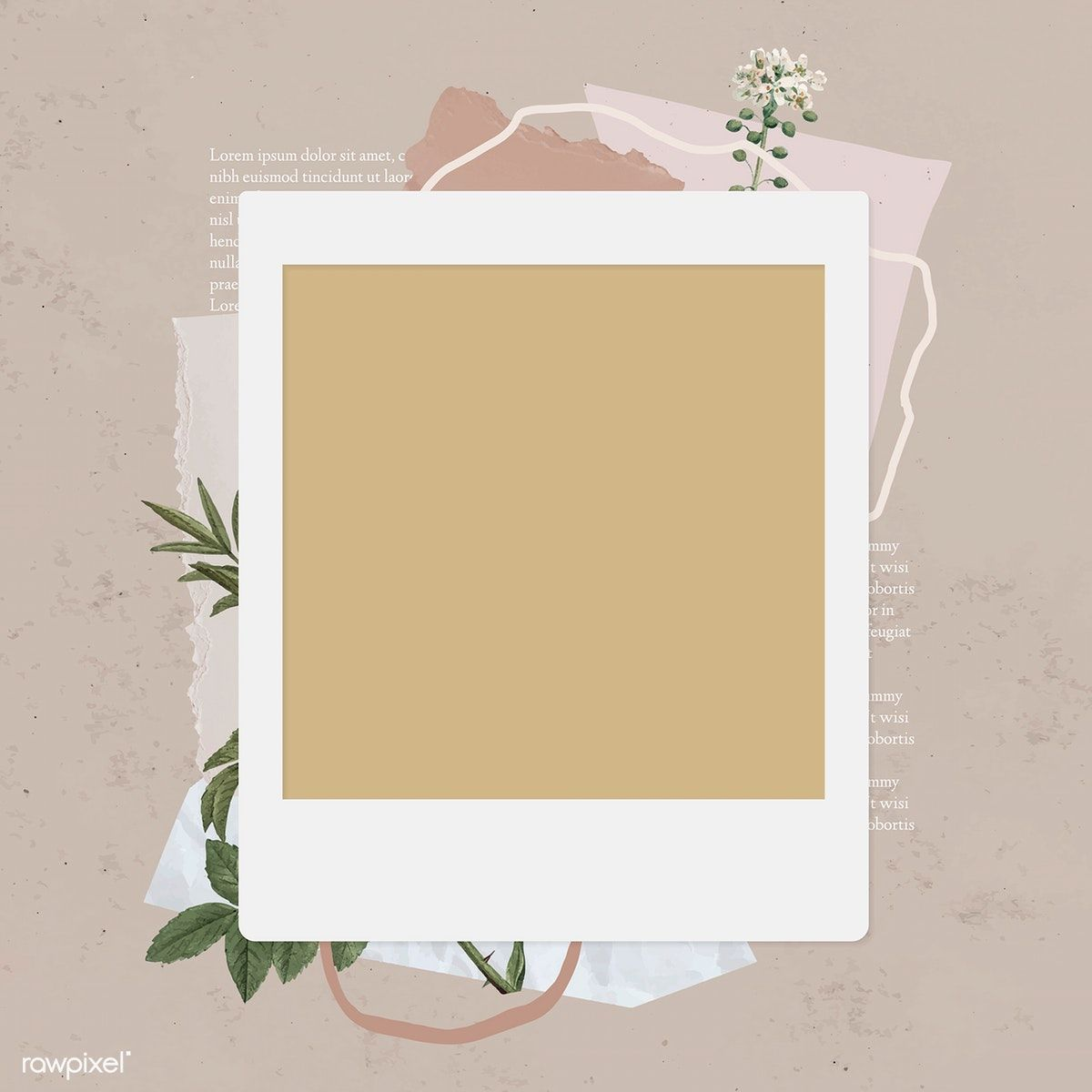 Download Premium Illustration Of Blank Collage Photo Frame